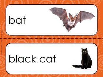 Halloween Vocabulary Word Wall