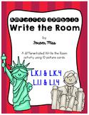 American Symbols Write the Room