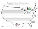 American Symbols Writing Activities and Flag