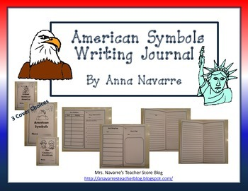 American Symbols Writing Journal