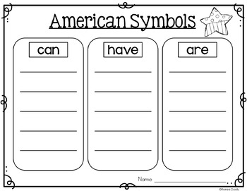 American Symbols and Monuments- A Nonfiction Unit