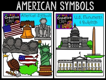 American Symbols and Monuments {Creative Clips Digital ...