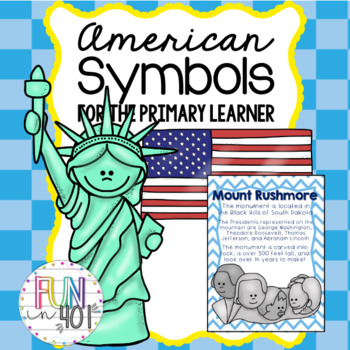 American Symbols and The USA for Younger Learners!