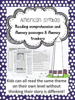 American Symbols fluency and comprehension leveled passage2