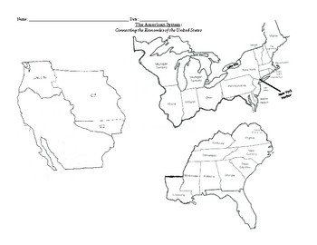 American System Map
