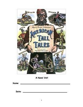 American Tall Tales (Mary Pope Osborne) Novel Unit
