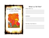 American Tall Tales Novel Guide
