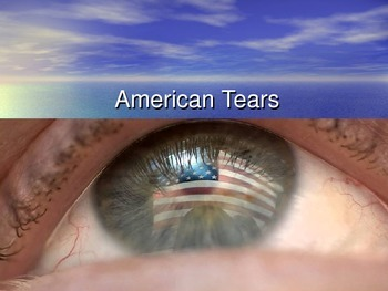 American Tears Sing Along With Powerpoint- Great for Veterans Day