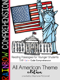 American Theme Rainbow Comprehension for Young Students
