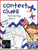 American Themed Context Clues for 4th 5th Grade