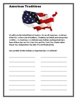 American Traditions Packet