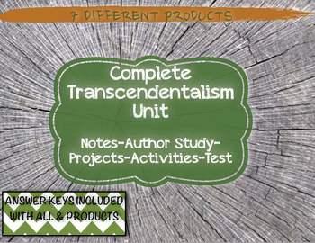 American Transcendentalism Bundle