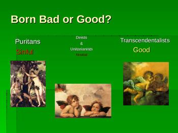 American Transcendentalism and Anti-Transcendentalism Powerpoint