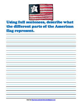 American Treasures Writing Prompts