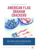 American (U.S.) Flag Edible Craft JAR