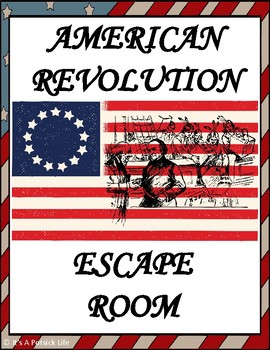 American Revolution Escape Room - US History - Social Studies (Sons of Liberty)