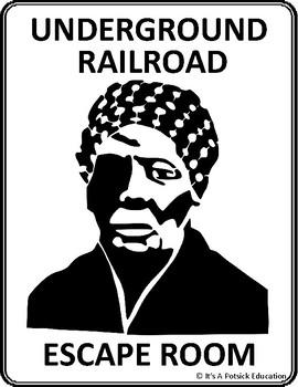 The Underground Railroad Escape Room - American US Black History