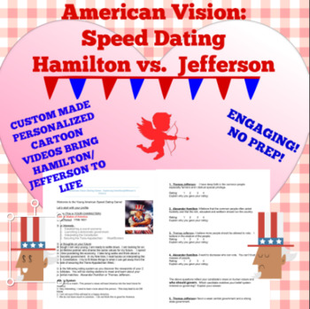 American Vision Dating Game: Exploring Hamilton/Jefferson's Visions