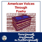 Poetry Through American Voices:  Literary Analysis & Close