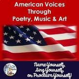 American Literature: Poetry, Music & Art Unit