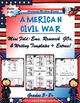 American Wars Interactive Mini Research Fold-Ems Mega Activity Bundle