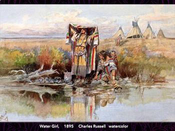 WESTERN - American Art of Old West 1800s
