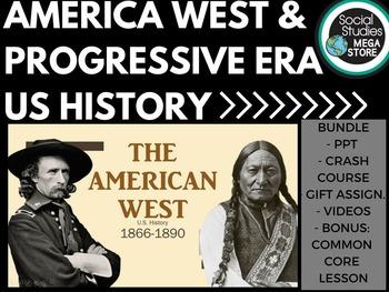 American West - Native Americans - Cowboys - Progressive E