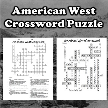 American West Crossword