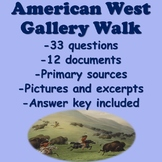 American West Gallery Walk (Transcontinental Railroad, Homestead Act, Dawes Act)
