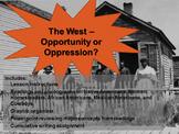 U.S. Westward Expansion - Opportunity or Oppression? Readi