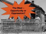 U.S. Westward Expansion - Opportunity or Oppression? Readi