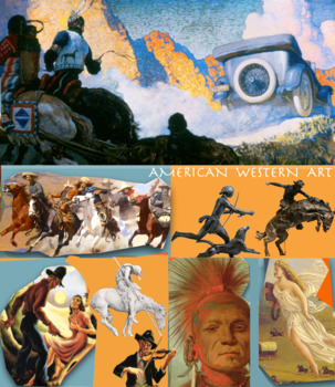 American Art of the Old West and Beyond - Art History - FREE POSTER