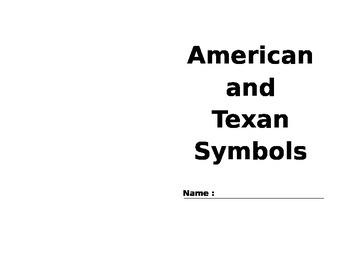 American and Texan Symbols
