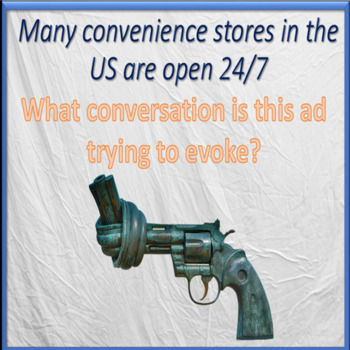 American culture through commercials – part two – ESL adult power-point