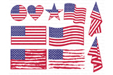 American flag SVG, Distressed USA Flag SVG Files.