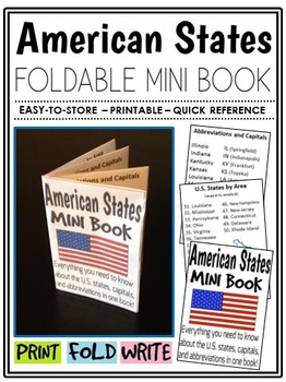 American States Mini-Book