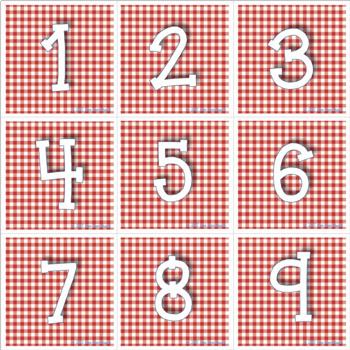 Americana Classroom Calendar Set
