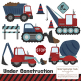 Americana Construction Clipart & Vectors