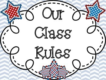 Class Rules: Americana Themed