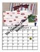 Americana Themed School Year Calendar 2016 through 2017