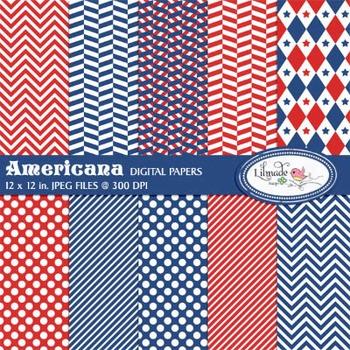 Americana digital papers