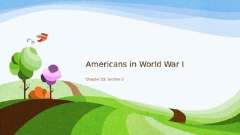 Americans in World War I - Chapter 23 Section 3