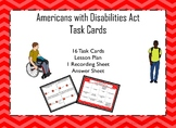 Americans with Disabilities Act Task Cards