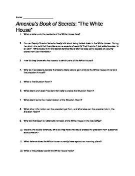 America's Book of Secrets: The White House