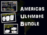 Americas Bundle (Olmec Maya Inca Aztec) 10 PPTs & 5 primary sources & other docs