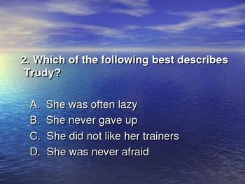 """America's Champion Swimmer: Gertrude Ederle - Powerpoint"