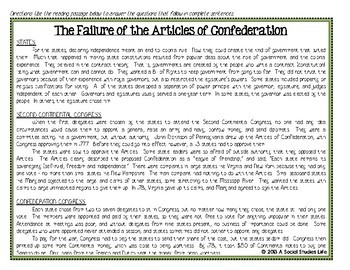 Articles of Confederation Shays' Rebellion