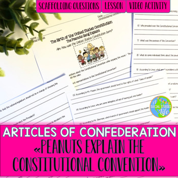 Articles of Confederation Peanuts & the Constitutional Convention