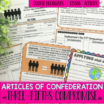 Articles of Confederation Three-Fifths Compromise