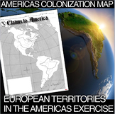 Americas Exploration and Colonizing Map(Age of Exploration)